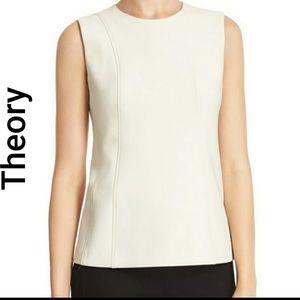 Theory women's tank top blouse sleeveless
